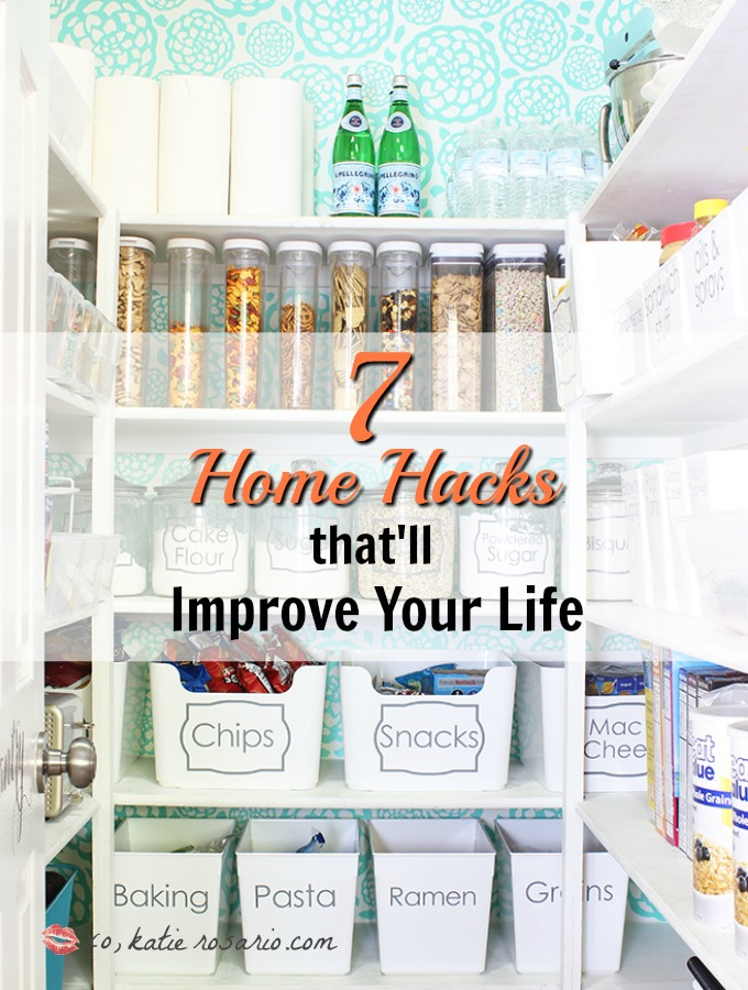 7 brilliant home hacks that will improve your life