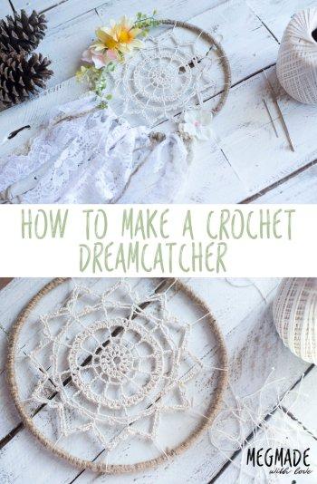 diy crochet pattern dream catcher easy crochet for beginners