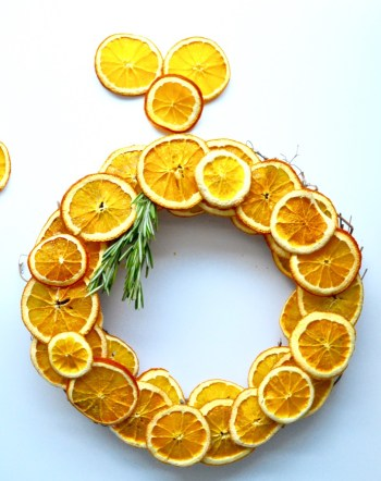 9 ways to make your home smell amazing diy dried orange fall wreath