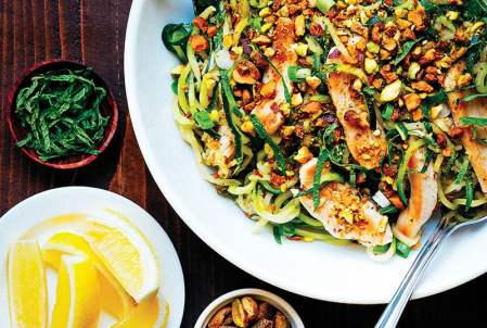 zucchini pasta with chicken for 10 Ketogenic Meals That Help You Lose Weight: OMG! I just found this out and I have to share it! Have you ever heard of a high fat, high protein and low carb diet? Did you know that such a lifestyle exists? The answer is yes! This diet is called Ketogenic Diet. This keto diet sounds crazy but totally works if you stick to eat! And what's even better you can eat bacon and lose weight! So cool! Pinning for later!