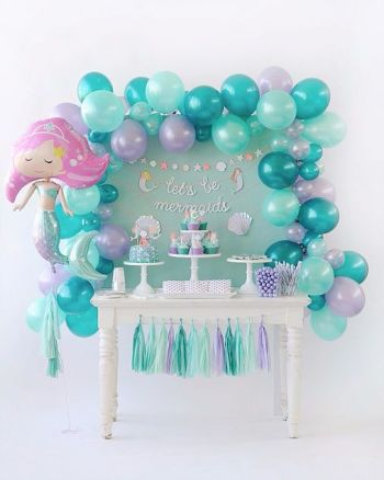 Mermaid Birthday Party DIY Ideas Dessert Table Who Doesnt Love Mermaids