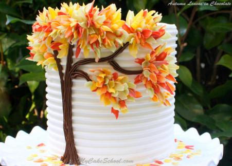 Chocolate Autumn Tree Fall Cake. 14 Amazing Fall Cakes That Look Almost Too Beautiful to Eat: Sweater weather is not complete without cake!!! Nothing is more beautiful and comforting than fall cakes! This guide is so so perfect for beginner bakers and newbie cake decorators. Pumpkin spice and apple pie in cakes in amazing! I love the fall rich colors! These cakes look too beautiful to eat but hey I'll be eating them! Definitely pinning for later!