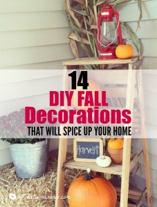 14 DIY Fall Decorations That Will Spice Up Your Home