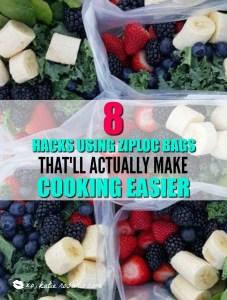 8 Hacks Using Ziploc Bags That'll Actually Make Cooking Easier