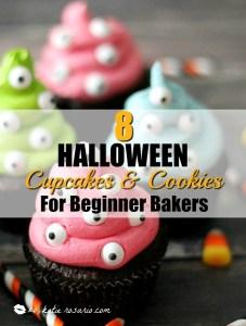 8 Halloween Cupcakes and Cookies for Beginner Bakers