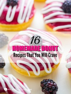 16 Homemade Donut Recipes That You Will Crave