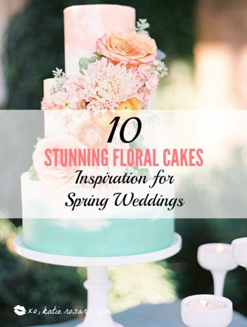 10 stunning floral cakes inspiration for the spring weddings xo im obsessed with wedding cakes wedding cakes are a centerpiece on the big mightylinksfo