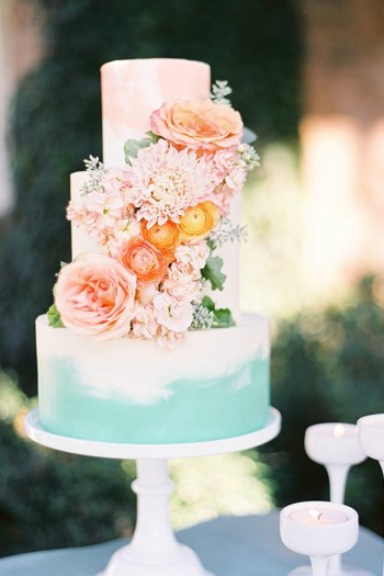10 Stunning Floral Cakes Inspiration For The Spring Weddings Xo