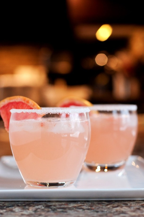 The Paloma | These Galentine's Day inspired cocktails are fun twists on classic cocktails that'll make your gal pal day festive! Choose from strawberry Moscow mules or homemade Frosé, cotton candy champagne or a pink senorita. These Galentine's day cocktails will elevate your next girls night! #xokatierosario #galentinesdaydrinks #girlsnightideas #girlsnightcocktails