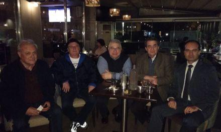 Συναντηση Κώστα Τίγκα με τους Πρόεδρο και Αντιπρόεδρο του Ο.Φ. Χολαργού κ.κ. Κυριάκο Γεωργιάδη και Πάρι Καλαϊτζάκη.