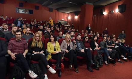 Η Περιφερειάρχης Αττικής στην τελετή λήξης και απονομής των βραβείων του 12ου Outview Film Festival