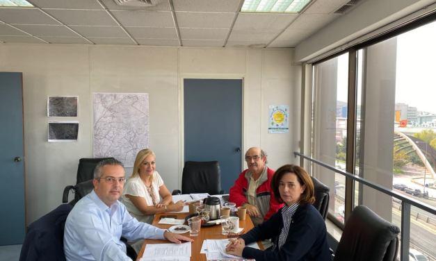 Με την Αντιπεριφερειάρχη Βόρειου Τομέα Αττικής κα Λουκία Κεφαλογιάννη συναντήθηκε ο Δήμαρχος Παπάγου – Χολαργού, Ηλίας Αποστολόπουλος.