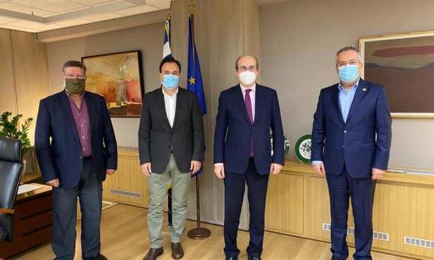 Συνάντηση του Δημάρχου Παπάγου – Χολαργού με τον Υπουργό Εργασίας Κοινωνικής Ασφάλισης και Κοινωνικών Υποθέσεων