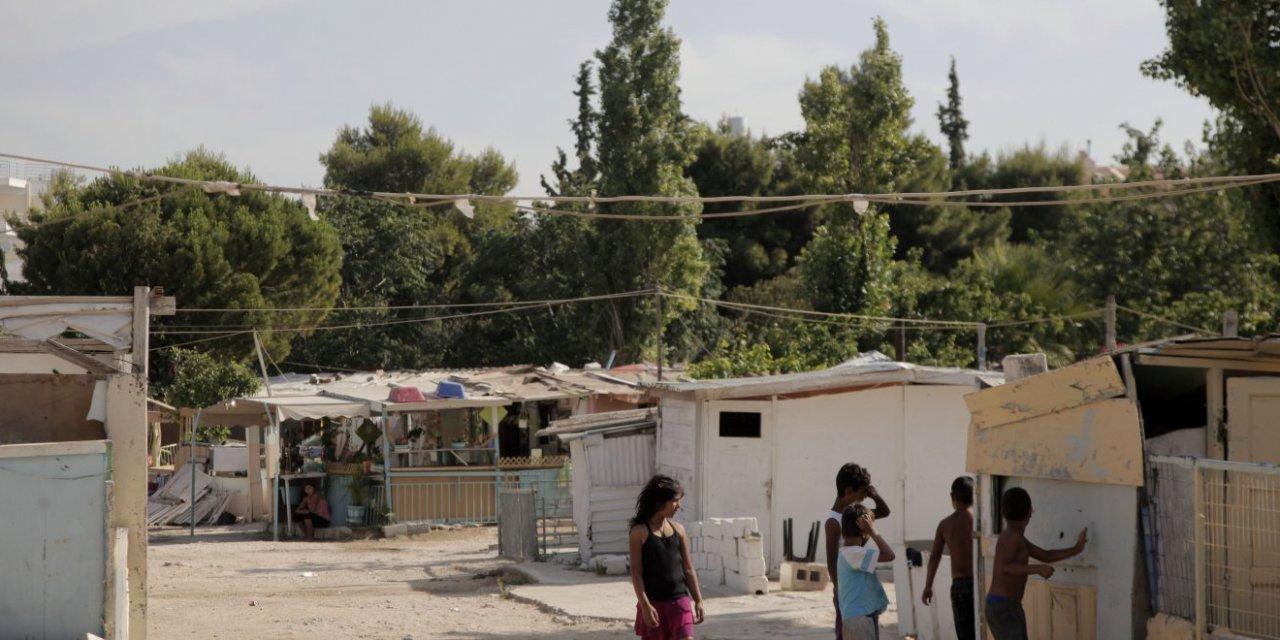 ο οικισμός Ρομά στο Χαλάνδρι Σε κατάσταση έκτακτης ανάγκης λόγω  κορωνοϊού