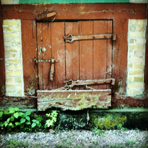 Small doors in old places