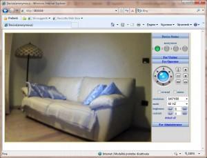 IP Camera Homepage