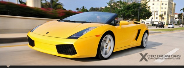 Exotic car rental