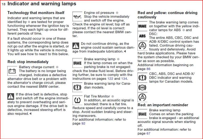 2009 Bmw X3 Dash Warning Lights Centralroots