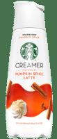 Starbucks pumpkin spice coffee creamer