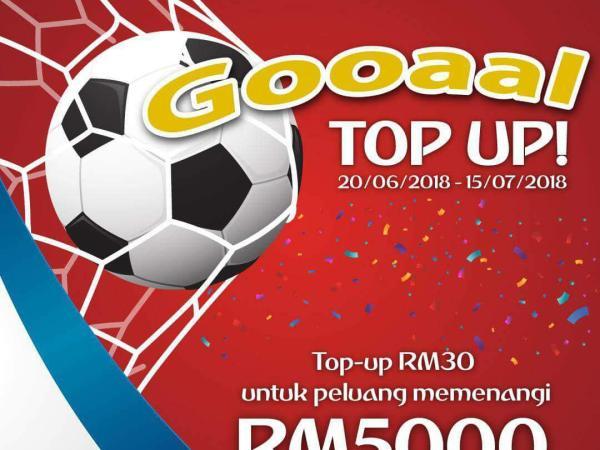 GOOAAL Top-Up ONEXOX
