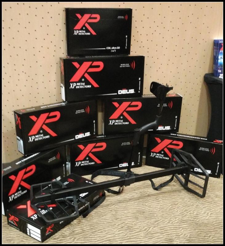 XP metal detectors have a new hoard hunter