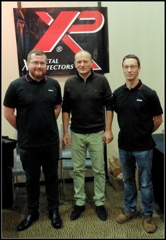 the XP metal detectors team