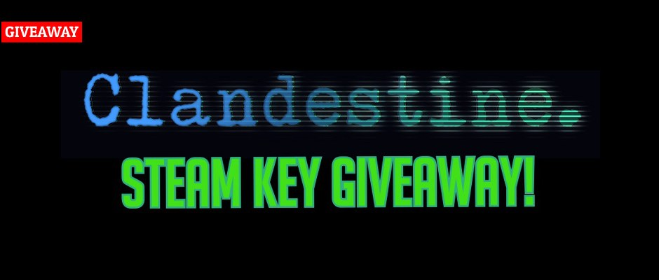 Clandestine: Steam Keys Giveaway
