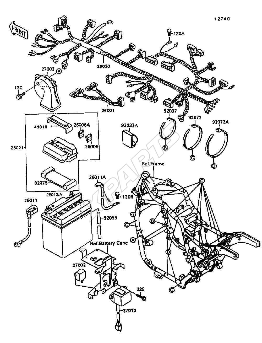 1998 kawasaki zx6r wiring diagram wiring diagram and schematics 49199395 1998 kawasaki zx6r wiring diagram