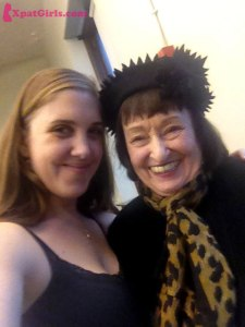 With the great Sheila Jordan