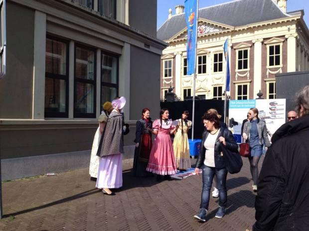 Celebrating 200 years of constitution by staging street performances