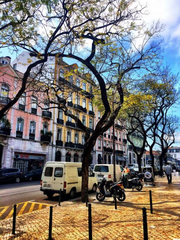On The Streets Of Lisbon
