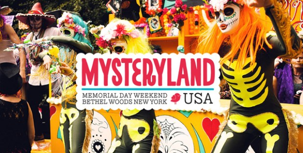 45 years later poster Mysteryland