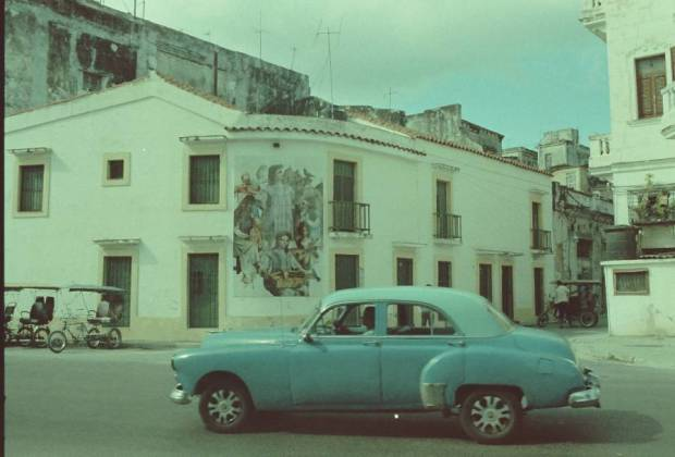 Car on the streets of Havana