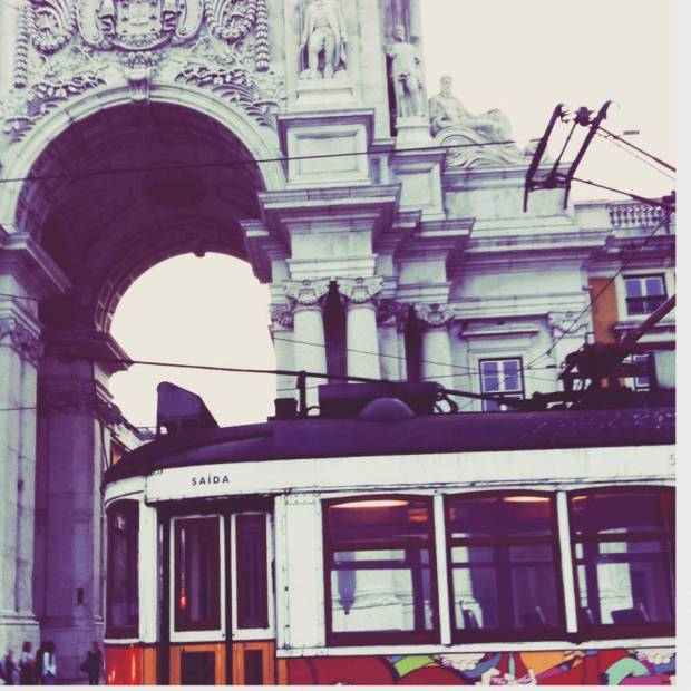 That's one of my favorite things. Driving trough Lisbon in that old trams :)