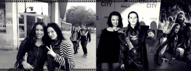 Miriam and Ioana together with Fahr in Berlin and Bucharest