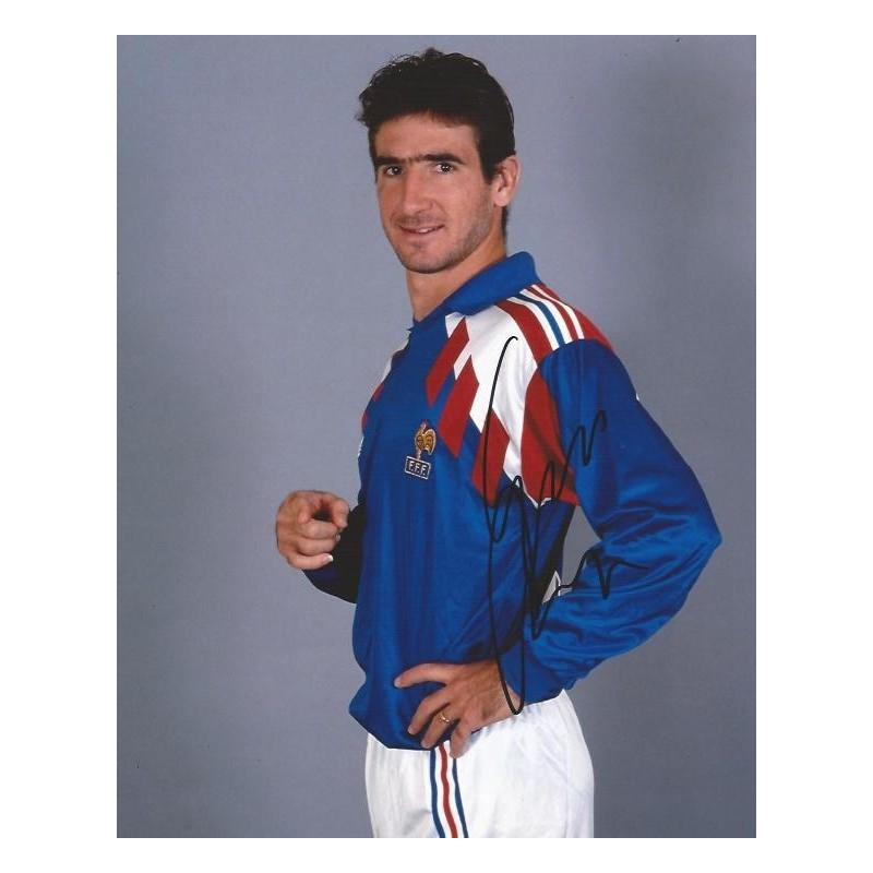 Eric cantona picture · eric cantona is most known for his skill on the soccer field. Eric CANTONA Autograph