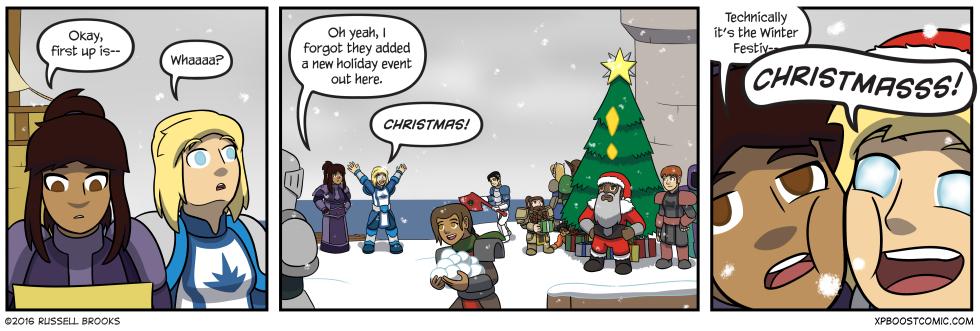 Guess Keran's favorite holiday.
