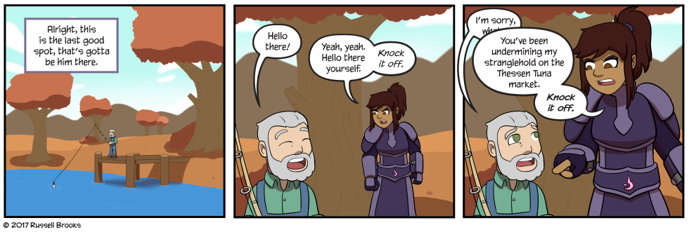 Yeah, you though it was just a joke in that inventory comic, didn't you?