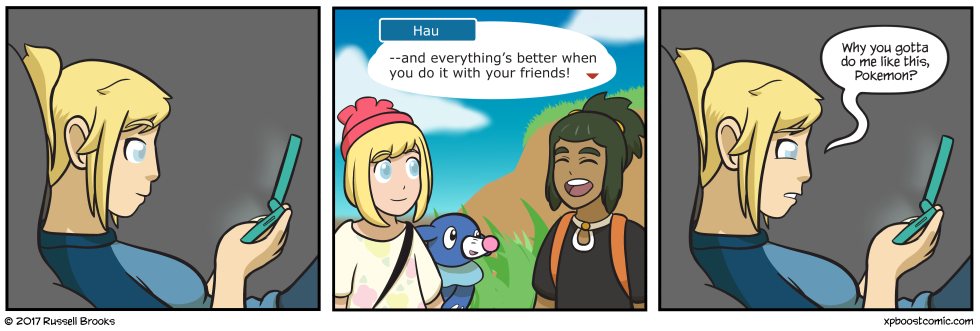 GodDAMMIT Hau why must you be so good and pure?