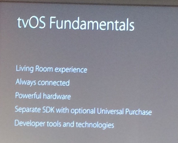Apple TV Tech Talks for tvOS -