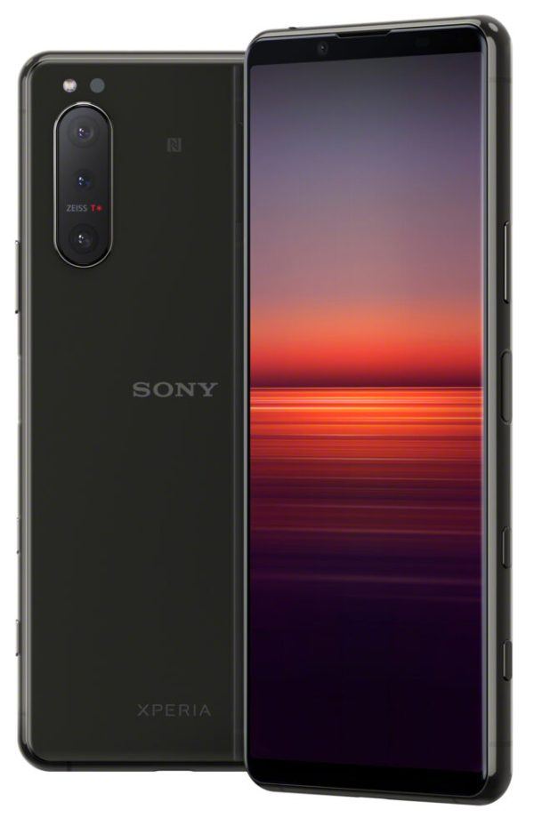More images of the Xperia 5 II leak; showing Black and ...