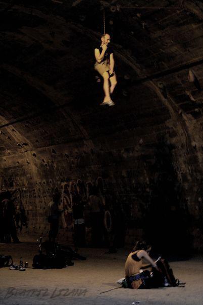 Un vampiro en el rocodromo de la foixarda