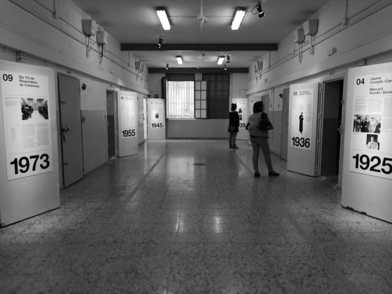Una de las galerías de la cárcel La Modelo