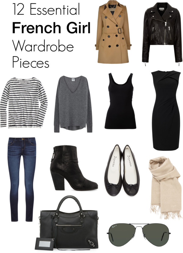 12 Essential French Girl Wardrobe Pieces Xperiments In