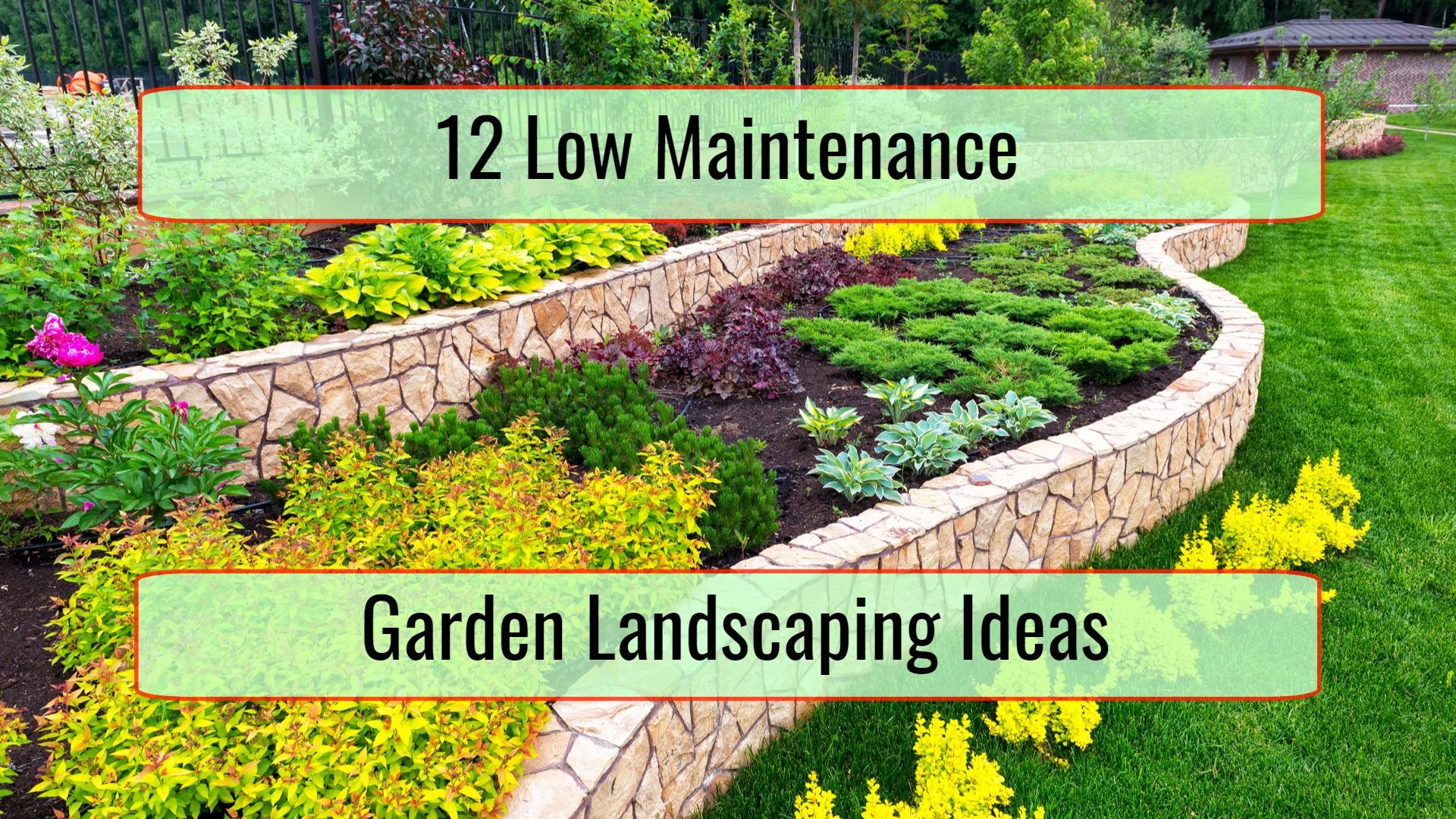 12 Low Maintenance Garden Landscaping Ideas • Home Tips on Low Maintenance:cyizg0Gje0G= Backyard Design  id=82851
