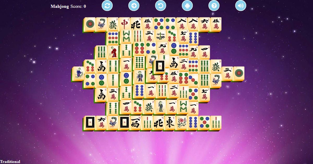 Mahjong Solitaire Unlimited Play Free Game Online