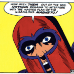 One of the many miracles of magnetism portrayed in X-Men #1 is Magneto's Incredible Mutating Hat.