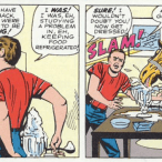 Natural consequences, as explored in X-Men #2.