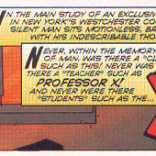 Okay, that's pretty cool: the opening narration of X-Men #1 closes Children of the Atom.