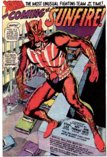 Sunfire's first appearance, in X-Men #64.